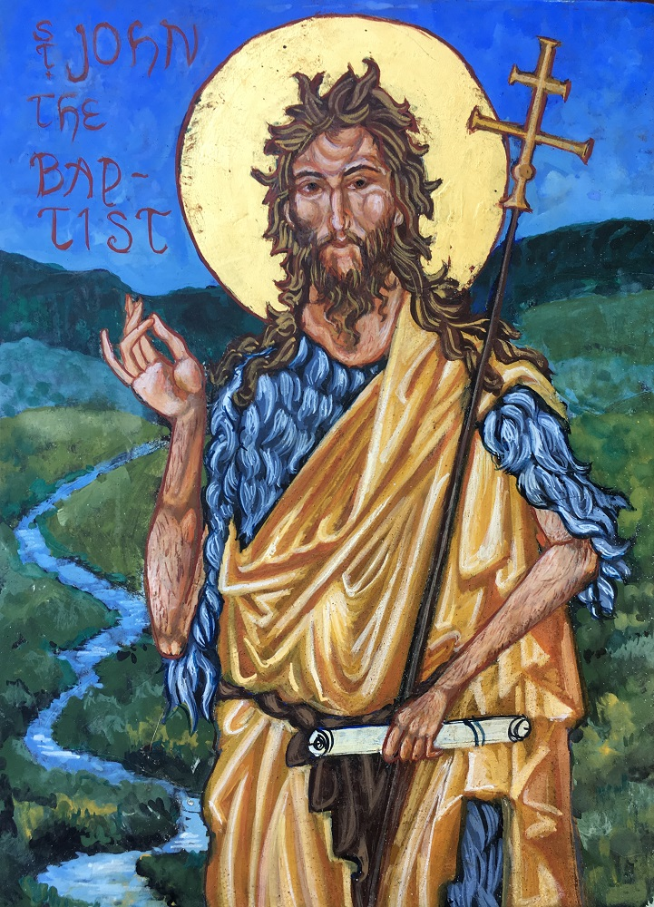 painting of John the Baptist