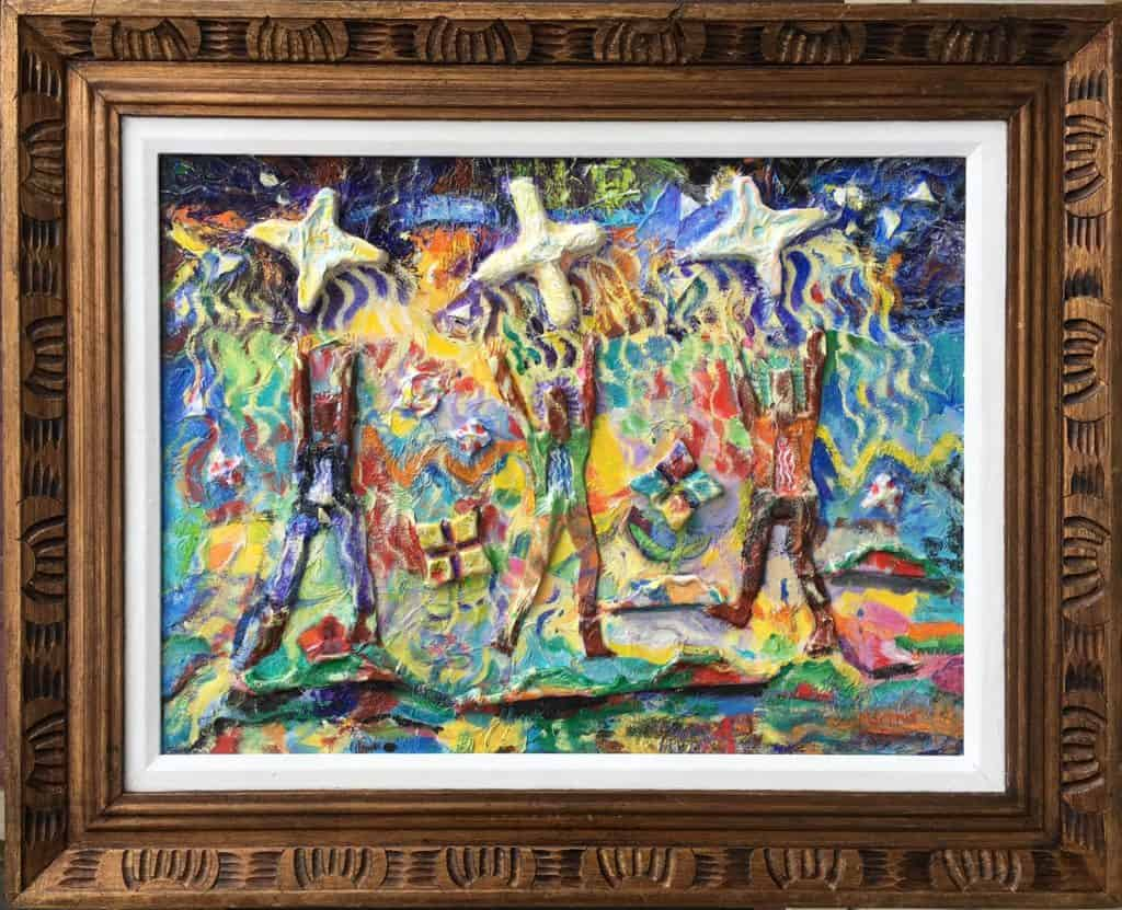 Mixed media: Dancers in the Light